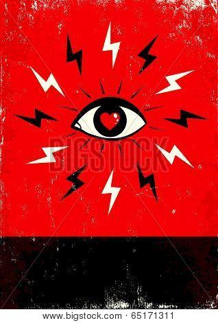 Eye And Lightning