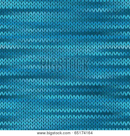 Seamless Knitted Melange Pattern