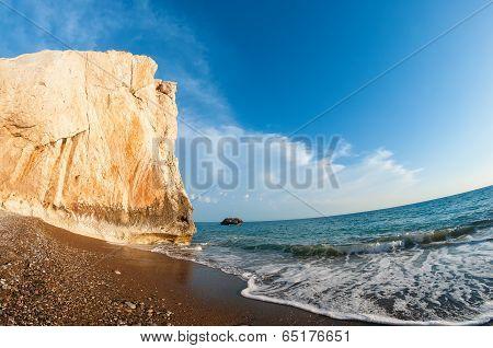 Aphrodites Rock. Cyprus. Paphos District