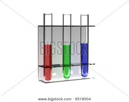 Rgb Test Tubes