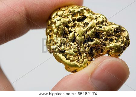 One Troy Ounce California Gold Nugget
