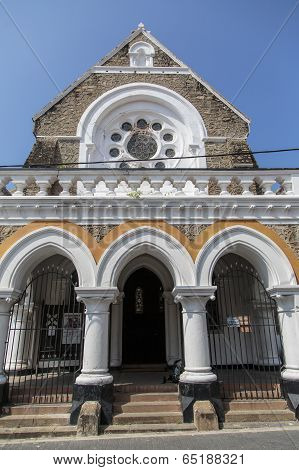 All Saints Anglican Church In Galle, Sri Lanka