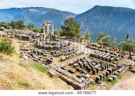 The Ruins Of Temple