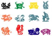 picture of chinese zodiac  - Chinese traditional paper - JPG