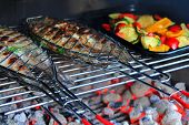 foto of freshwater fish  - Grilled Fresh Fish  - JPG