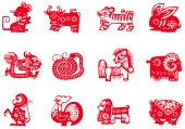 stock photo of chinese new year horse  - Chinese traditional paper - JPG