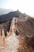 picture of qin dynasty  - Ancient great wall of China in winter - JPG
