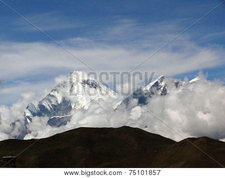 Daulagiri Himalayan Giant In Monsoon