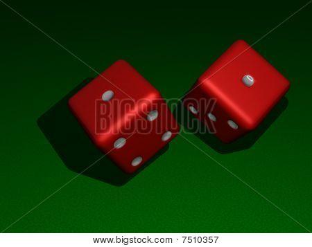 Snake eyes (dice)