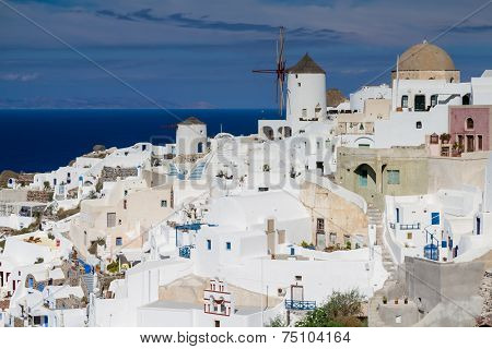 White Village Of Oia