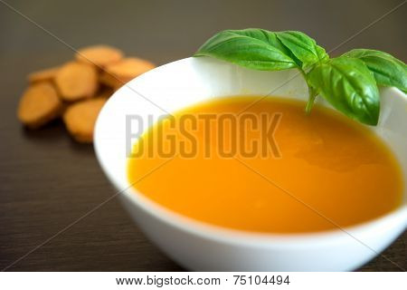 Soup With Pumpkin And Carrots