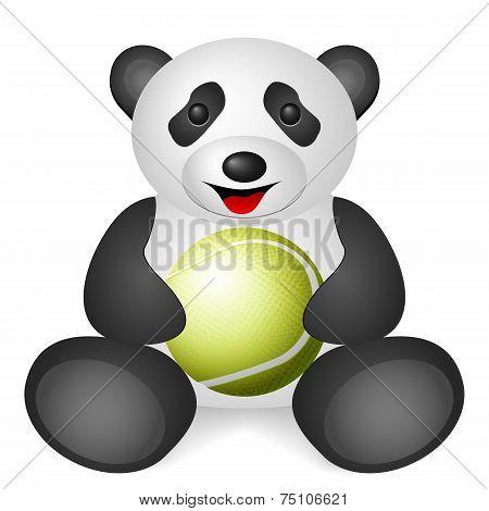 Panda Tennis Ball