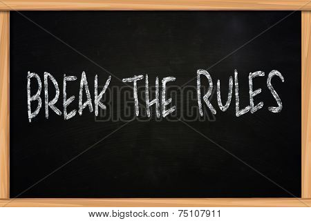Break The Rules
