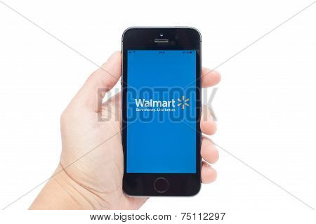Walmart  on iPhoe 5S