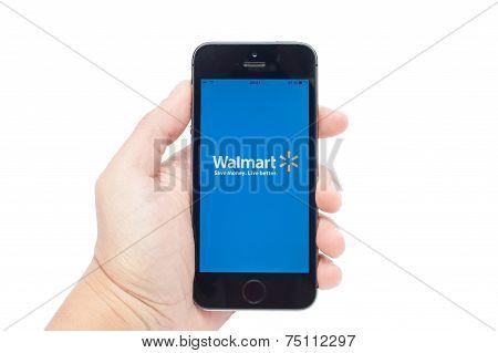 Walmart  on iPhoe 5S