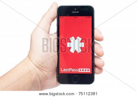 Pavlograd, Ukraine - October 31, 2014: Lastpass Is Password Manager That Saves Your Passwords And Gi
