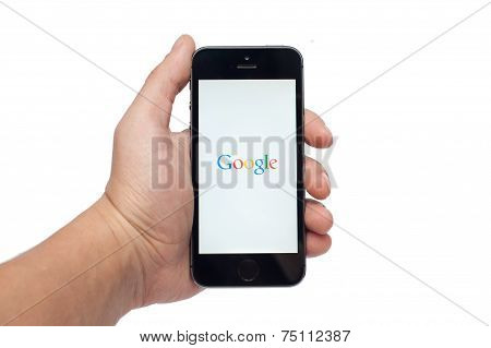 Pavlograd Ukraine - October 31 2014: Google is an American multinational corporation specializing in