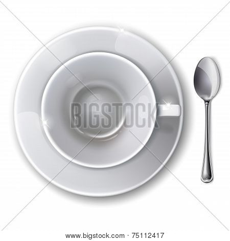 ?up, Saucer And Spoon