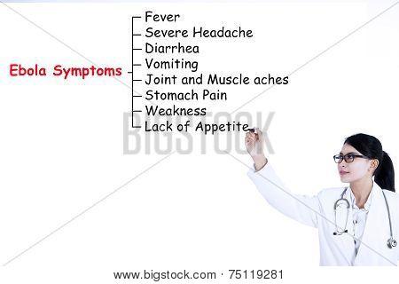 Doctor Writes Ebola Symptoms 2