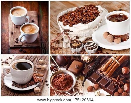 collage coffee