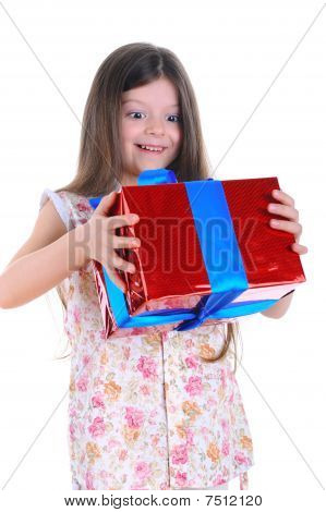 The Little Girl Keep In Hands A Gif