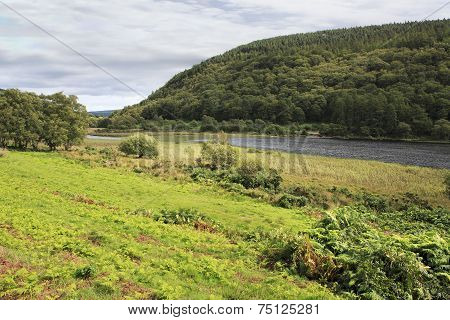 Lough Dan in Wicklow Mountains National Park