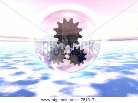 Extraterrestrial mechanism