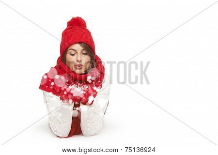 Winter, christmas, holidays concept