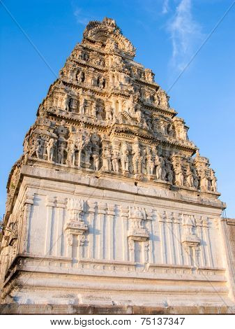 South Indian Gopuram.