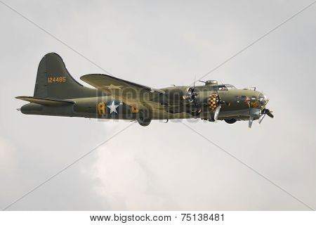 B17 Flying Fortress Vintage Aircraft