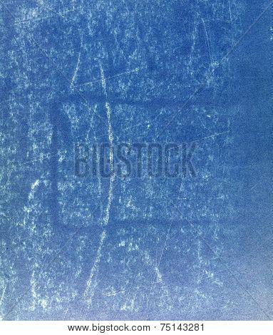 Blue Paperboard Sheet