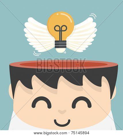 Freedom Idea Vector