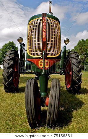 Oliver Row Crop Refurbished Tractor