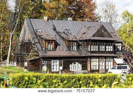 Wooden Villa In Zakopane, Poland