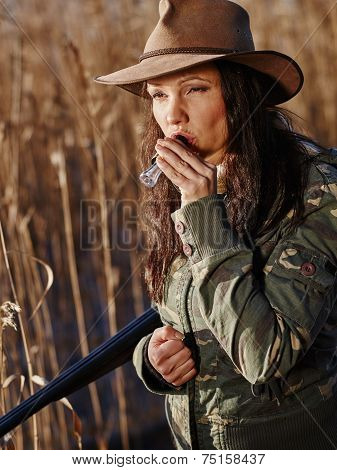 Female Duck Hunter