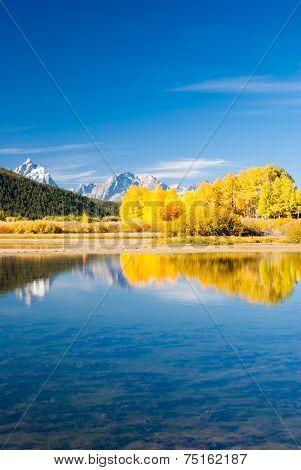 Grand Tetons In Fall