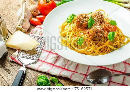New York Meatballs Pasta