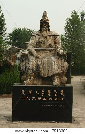 statue of chinese emperor