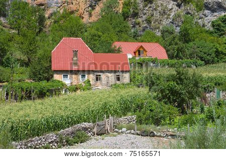 country houses of Kelmend community, Albania