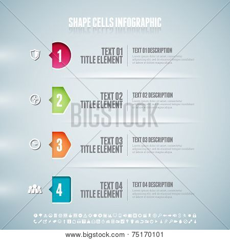 Shape Cells Infographic