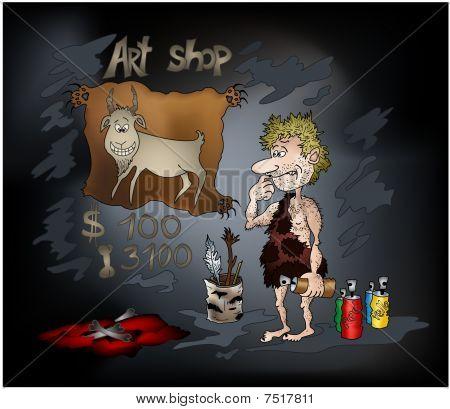 Stone Age Art Shop