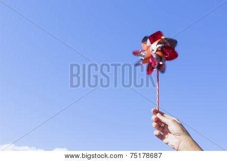 Hand And Pinwheel