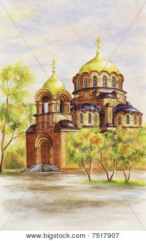 Cathedral Of Alexander Nevskij