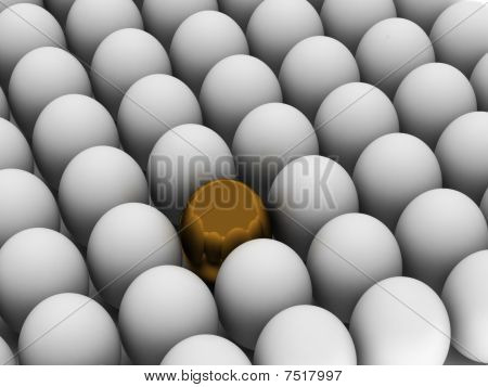 Individuality. Golden Egg.