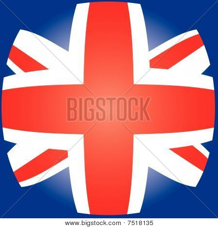 United Kingdom UK flag, vector