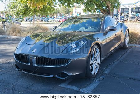 Fisker Karma At The Supercar Sunday Electric Vehicles