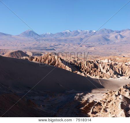 Volcanoes In Atacama Desert, Chile