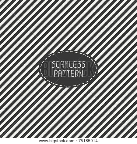 Vector retro diagonal stripes geometric seamless pattern. Vintage hipster striped. For wallpaper, pa