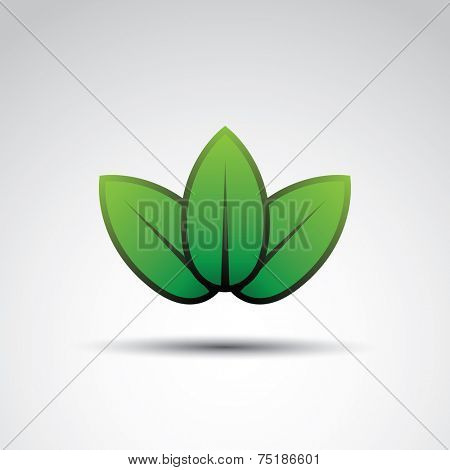 Leaves - Green Icon Design