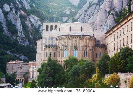 Benedictine Abbey at Montserrat Santa Maria de Montserrat